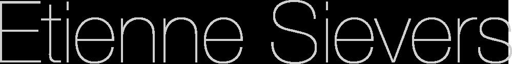 Etienne Sievers Logo